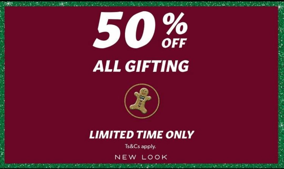 50% OFF GIFTING