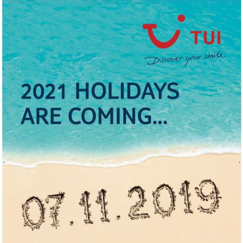 Book Your Next TUI Summer Break 2021