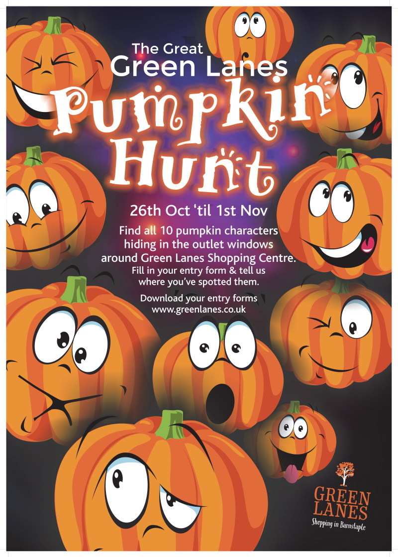 26th October - 1st November The Great Green Lanes Pumpkin Hunt
